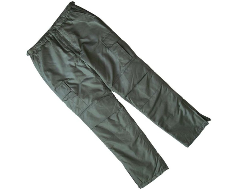 MIL-TEC US kalhoty thermo MA1, zelené