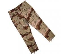 US kalhoty R/S, DESERT 6 barev