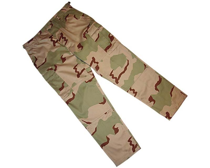 MIL-TEC US kalhoty BDU, DESERT 3 barvy