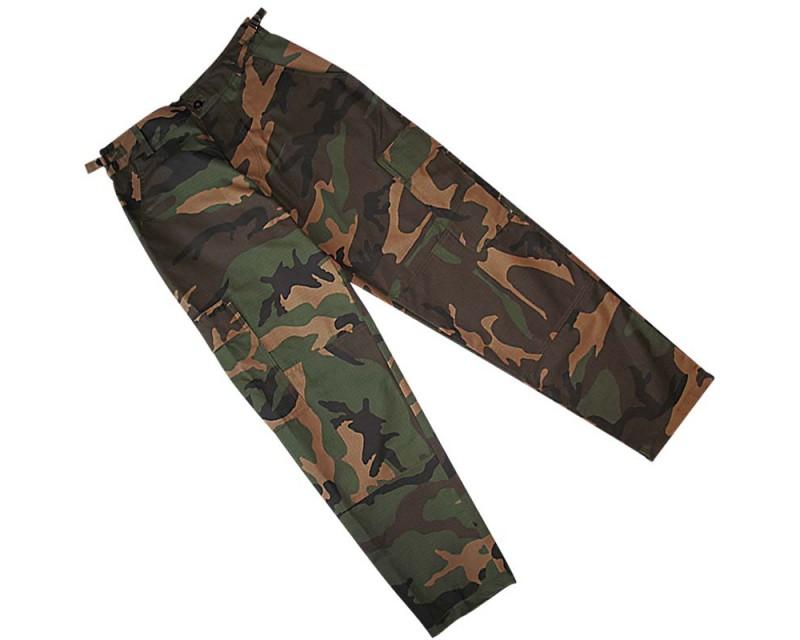 US kalhoty BDU R/S JEEP,  WOODLAND