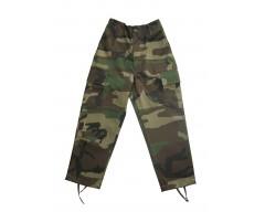 MIL-TEC Dětské kalhoty WOODLAND