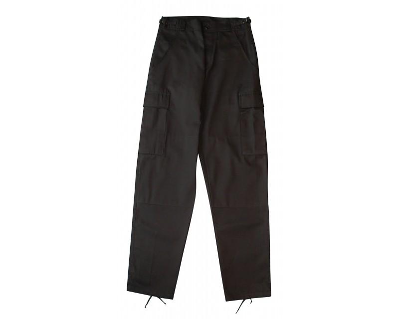US kalhoty BDU, černé