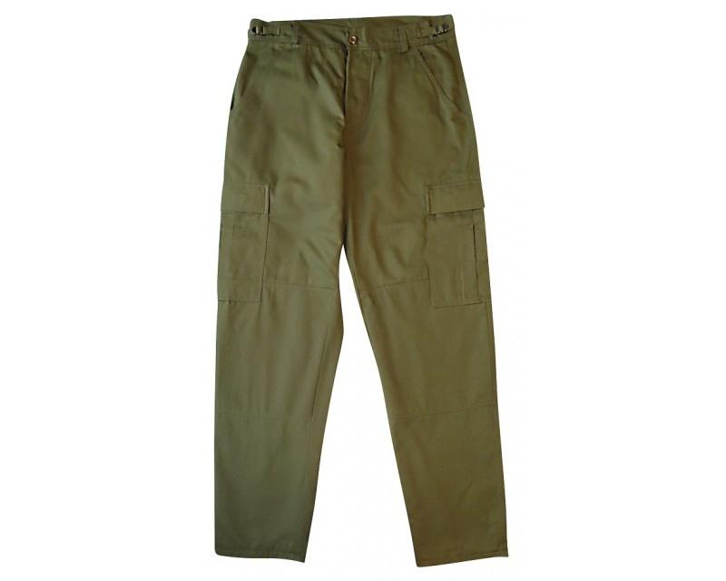 kalhoty ve stylu JEEP, OLIV