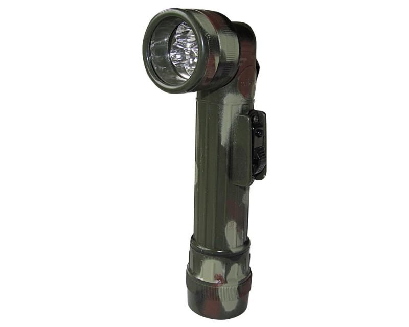 MIL-TEC LED Svítilna rohová styl U.S. army, maskovaná - střední
