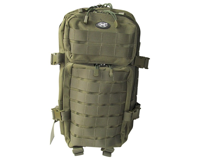 MFH batoh US Assault Pack 20 l, OLIV