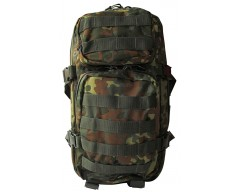 MFH batoh US Assault Pack 30 l, FLECKTARN