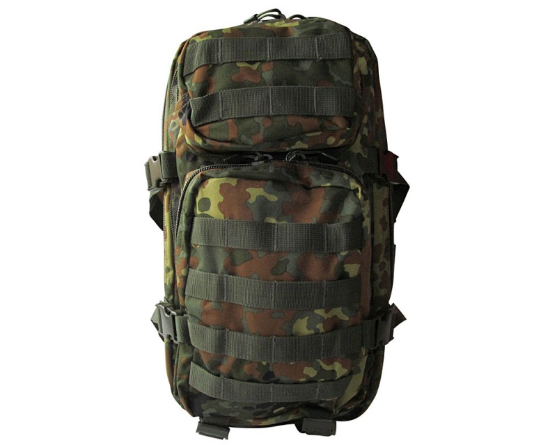 MFH batoh US Assault Pack 20 l, FLECKTARN