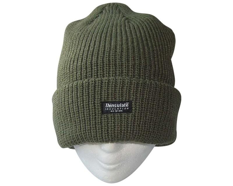 MIL-TEC Kulich zelený ARCTIC, Thinsulatte