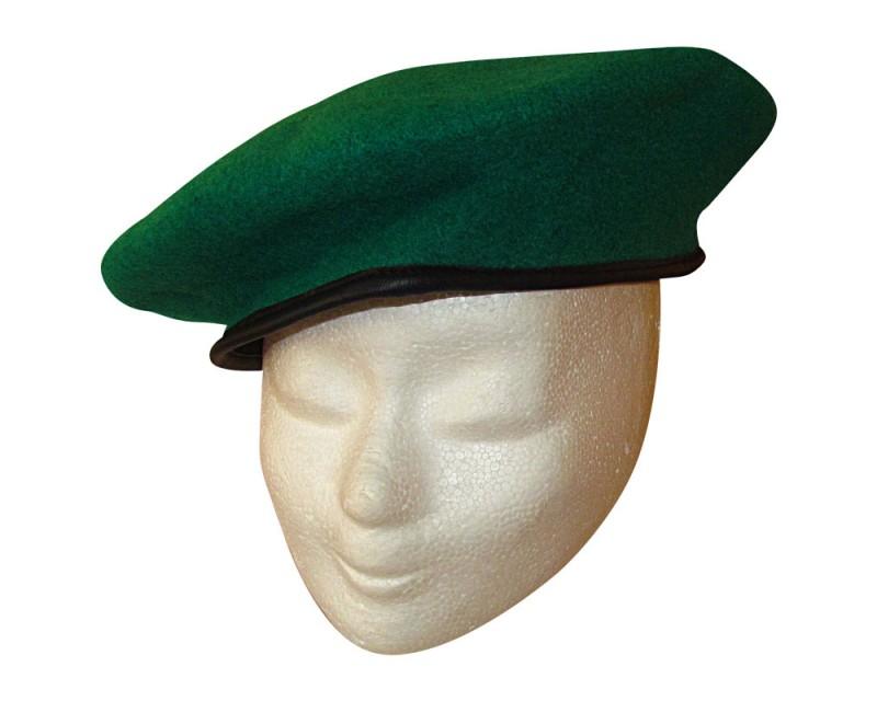 Baret Česká armáda, zelený, nový