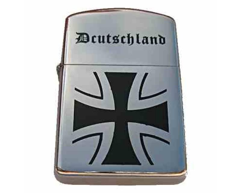 Benzínový zapalovač, helvétský kříž