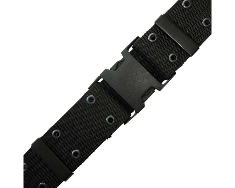 MIL-TEC Opasek U.S. Pistol Belt LC2, černý
