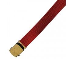 MIL-TEC Kalhotový opasek U.S. červený, úzký