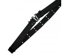 MIL-TEC Kalhotový opasek U.S. Mini Pistol Belt, černý