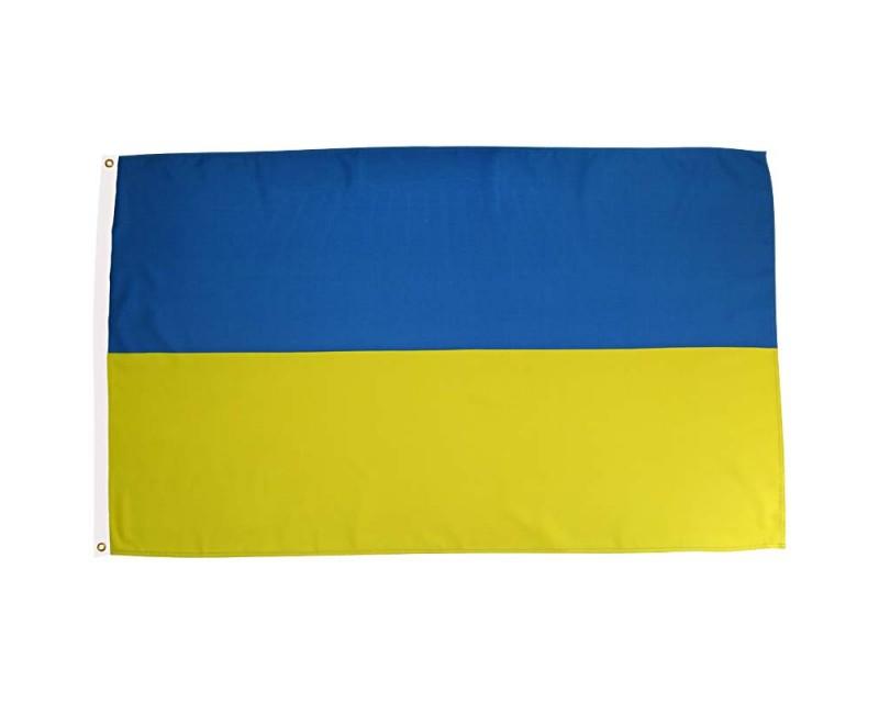 Vlajka UKRAJINA, 90x150 cm