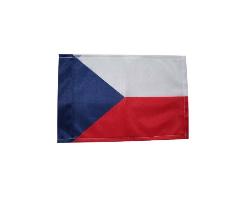 Vlajka Česká Republika, 20x29 cm, tunel
