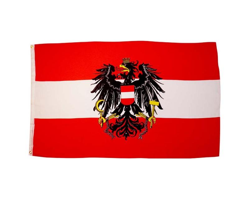 Vlajka RAKOUSKO, 90x150 cm
