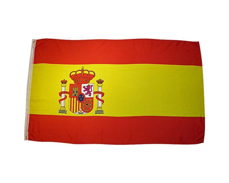 Vlajka ŠPANĚLSKO, 90x150 cm