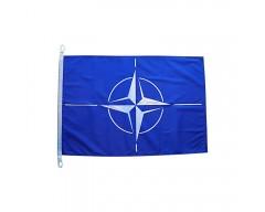 Vlajka NATO, 60x90 cm